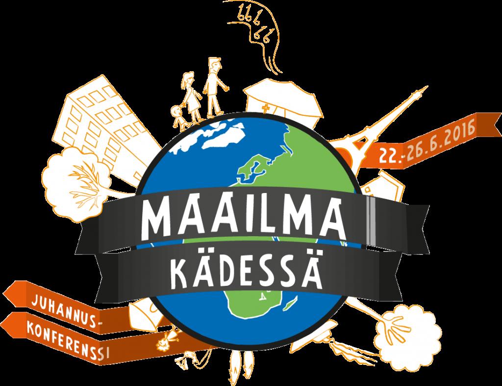 Maailma k+ñdess+ñ logo